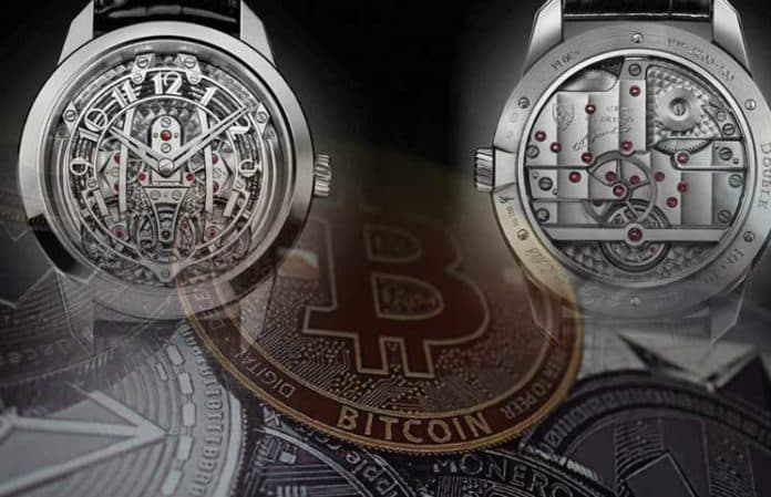 Crypto Wallet in Luxury Timepieces