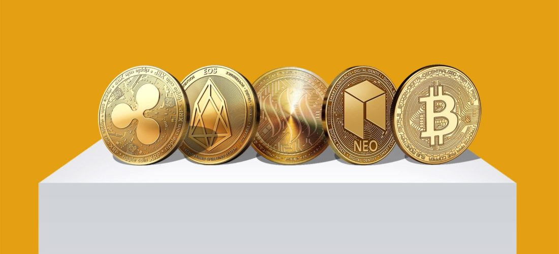 Top 5 Cryptocurrency Status in 2018 and Predictions for 2019