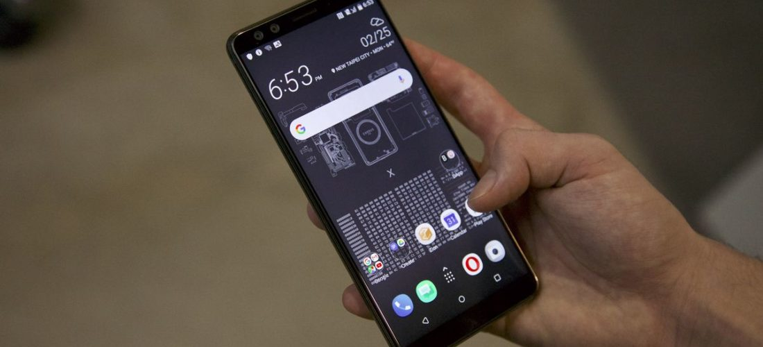 HTC launches mobile phone Exodus with dApp features