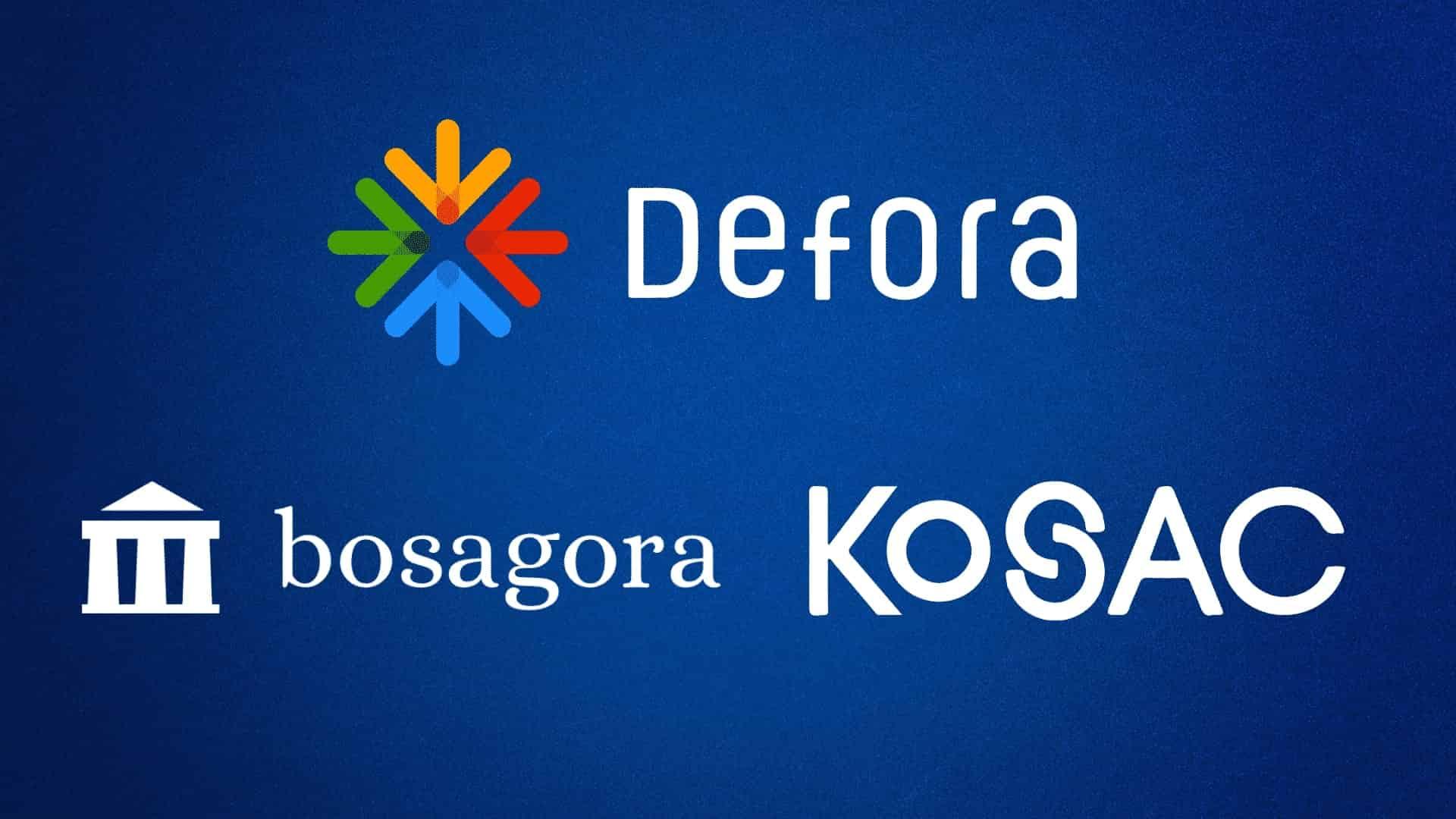 Bosagora With Kosac Displayed Defora to Increase